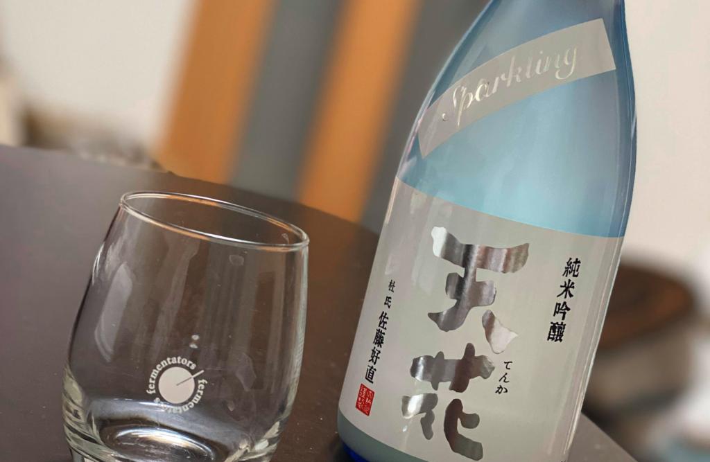 石川くんのオススメ酒:大納川「天花」スパークリング