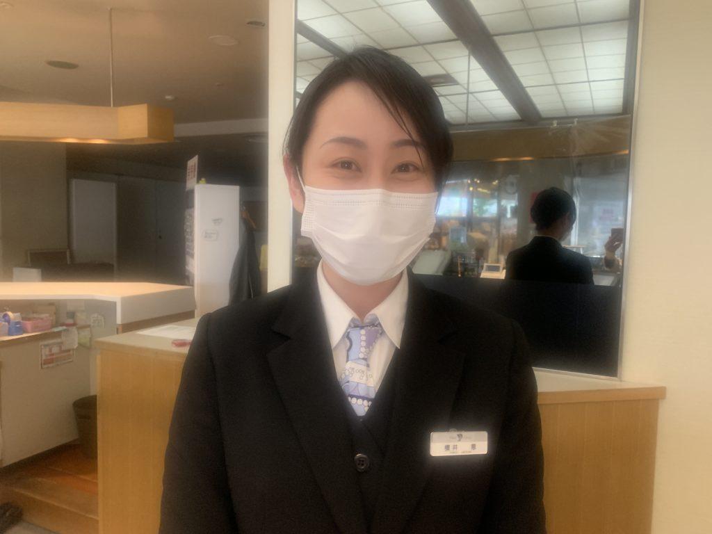 マスクの下は笑顔です!meguちゃん編