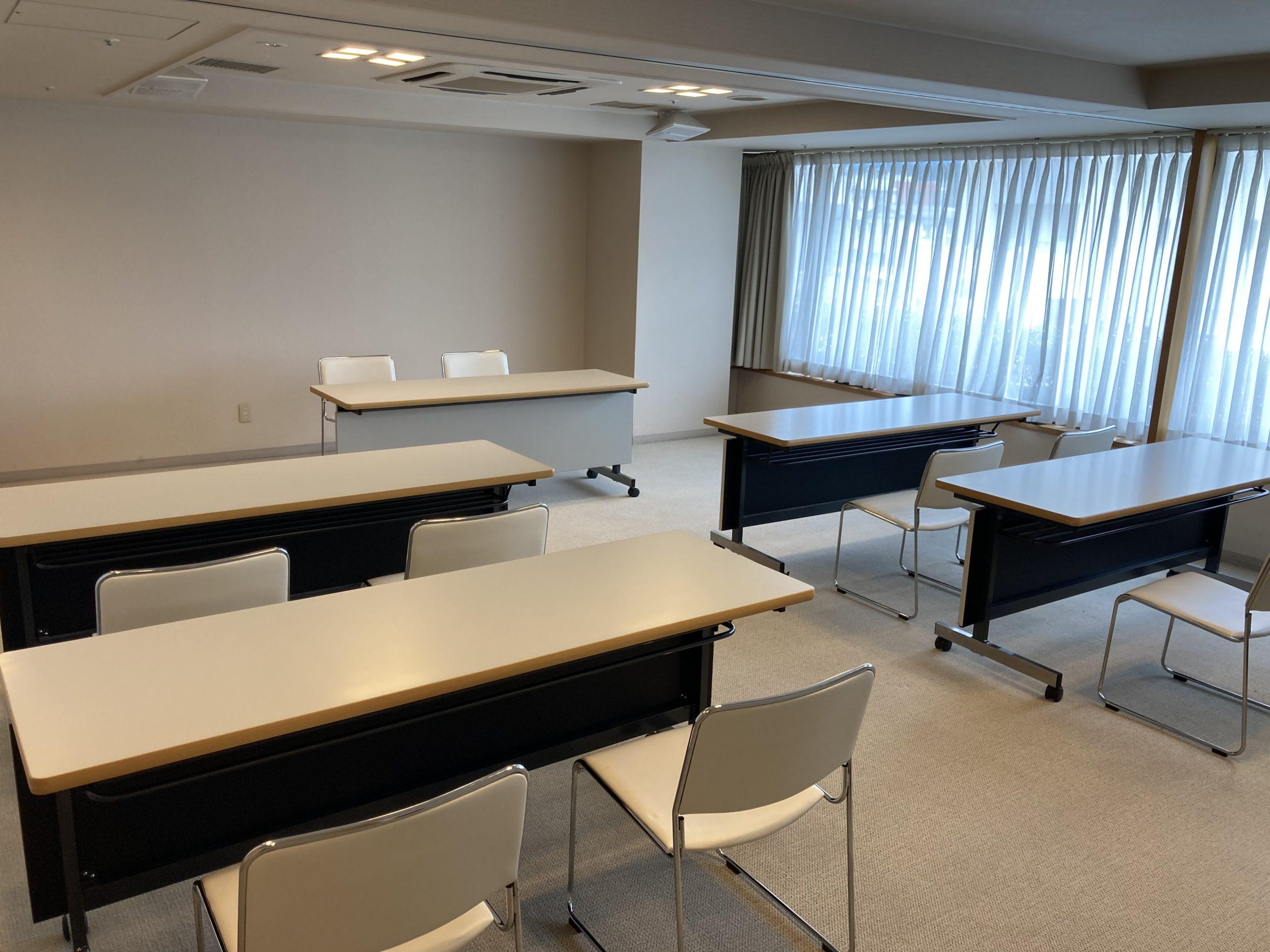 プラザグループは会議室やセミナー会場も充実!高速wi-fiも!