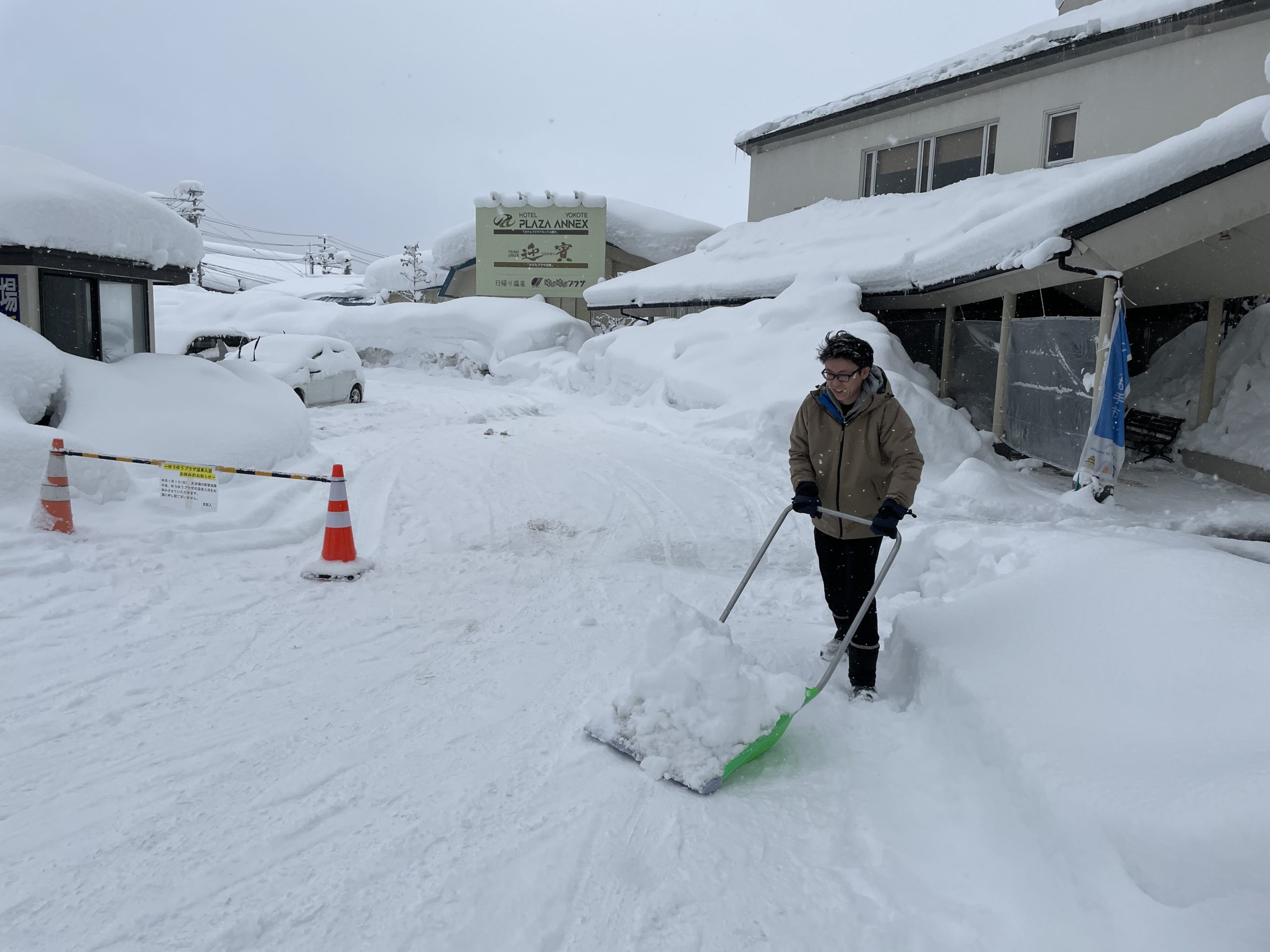 横手市の積雪量が観測史上最大を記録!