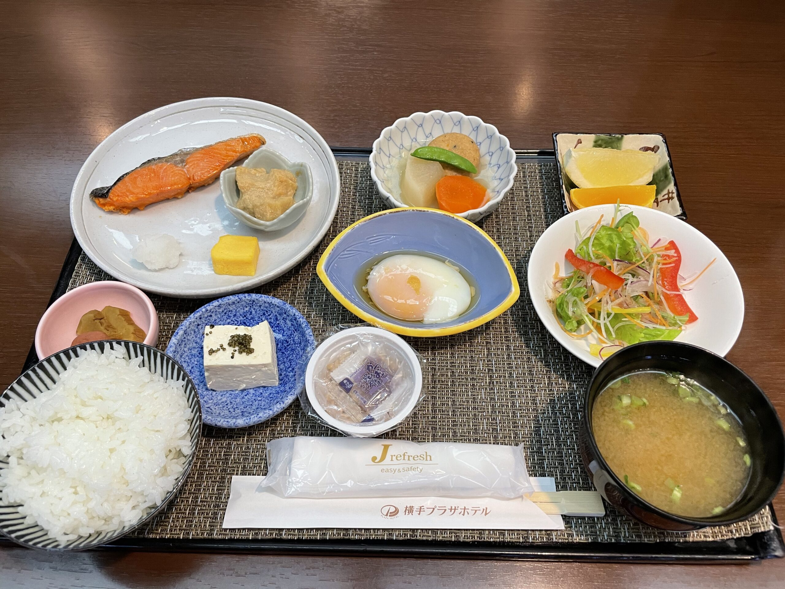 横手プラザホテルのおいしい朝食♪