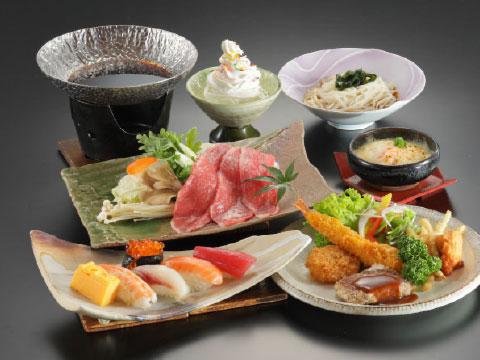 お子様膳3,000円(税別)