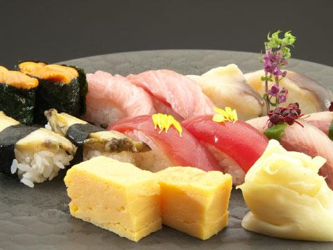 特上にぎり寿司(12貫)
