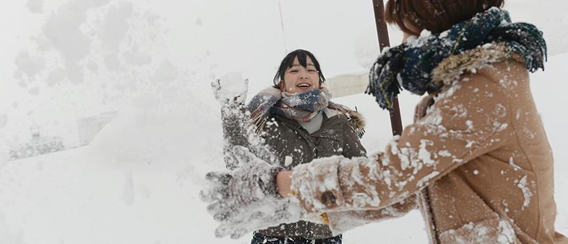 女子旅:初めての雪遊び